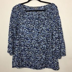 Daisy Fuentes printed top large